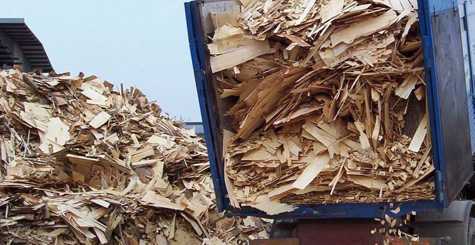 Вывоз древесных отходов